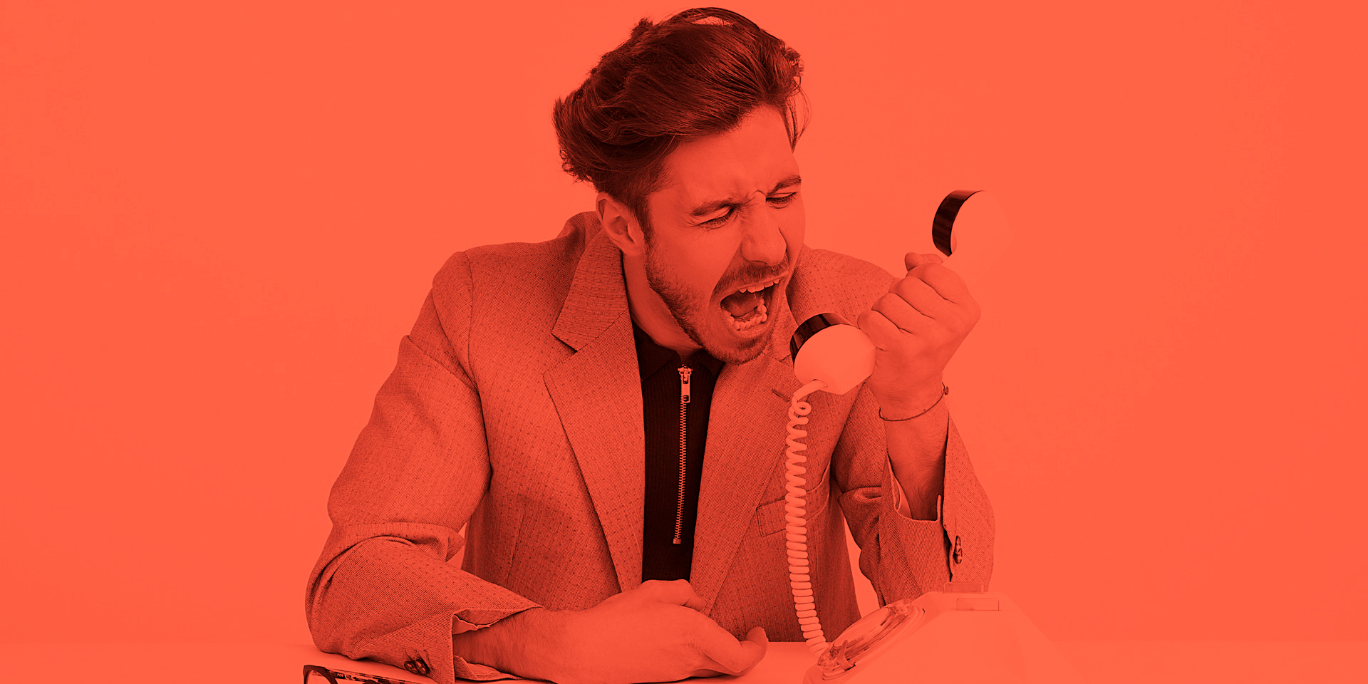 yelling into phone-1